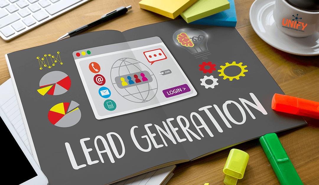 lead generate with WordPress