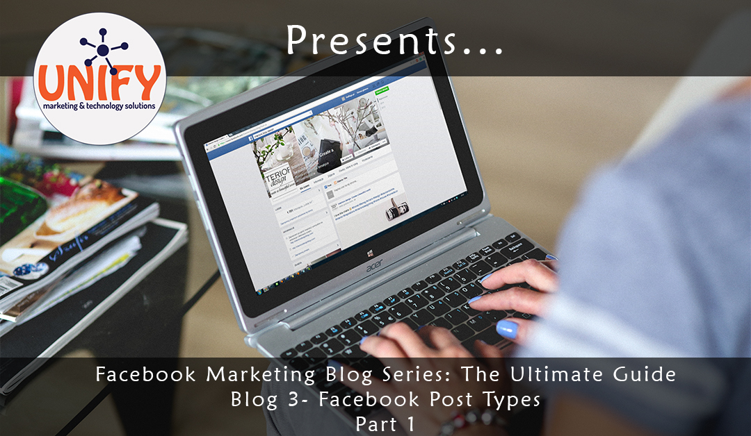 post on facebook, types of facebook posts