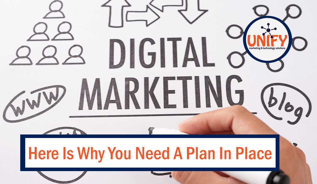 5 Reasons Why You Need A Digital Marketing Plan In Place