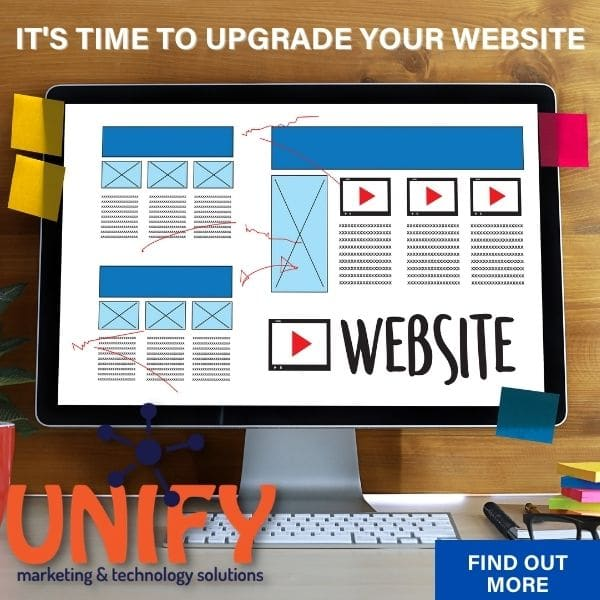 It's time for a website upgrade.